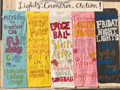 homecoming themes AGHS celebrates Lights, Camera, Action Homecoming Week for 2018