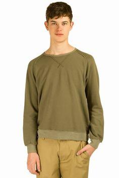 riviera club crewneck sweatshirt