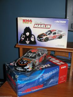 Sterling Marlin Kiss Band Nascar