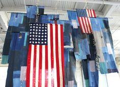 flags. via free people blog