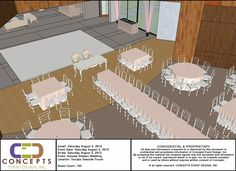 Dining layout