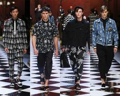 @DolceGabbana  #mensfashion  Spring/Summer '17 inspired by eighties music and glamorous styles. #DGMusica #dgss17  #Milan Look-004