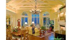 Palmiste Hausplan - Balconies in future house - Beach House Plans, Cottage House Plans, Cottage Homes, Country Style House Plans, Cottage Style, Coastal Cottage, Coastal Homes, Custom Home Plans, Planer