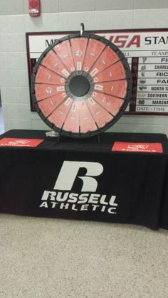 Make sure you stop by the WKU prize wheel on the 2nd floor concourse! Buy this Prize Wheel at http://PrizeWheel.com/products/floor-prize-wheels/big-40-prize-wheel/.