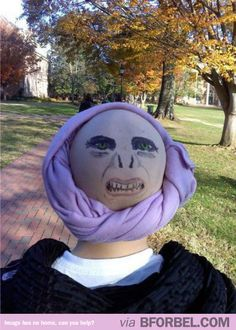 Best. Voldemort. costume. ever. Harry Potter nerdgasm. #geek