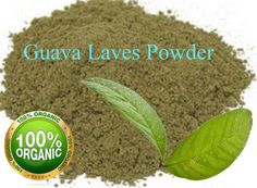 Guava Leaves Powder Herbal Tea Weight Loss Fat Burner Skin Care Sample Pack #Homemade