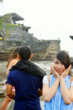 #Bedugul #TanahLot #Bali #Indonesia #Me #Pretty #Crowd