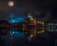 Narva castle in mirror of new year vol2 by Aleksandr Kljuchenkow on 500px