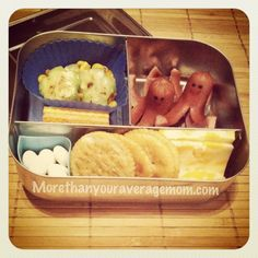 More than your average mom: O is for Octopus and Okra Bento Lunch