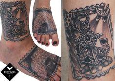 Anker Tattoo by Björn - http://www.buntblick-tattoo.de/