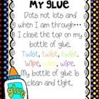 Here are two poems to go along with the book Too Much Glue by Flashlight Press illustrated by Zac Retz.  They can be used as posters in your classr...