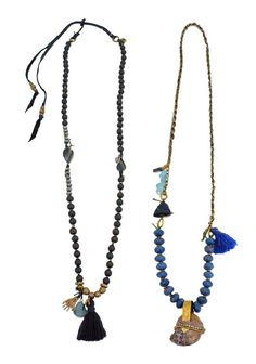 to be worn with a white tee and cut offs on a summers day. necklaces by depetra