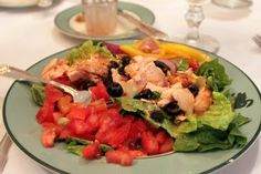 Salmon Salad courtesy of Tales from Bloggeritaville: The Swan Coach House, Atlanta
