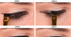 Step by step winged eyeliner tutorial | Trend Crown