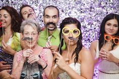 We love the photo booth trend! Such fun memories that will last forever