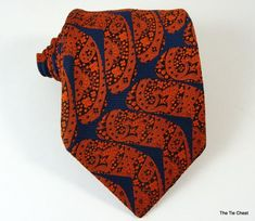 Winter style. Great authentic vintage tie! #TheTieChest Mens Fashion 2018, Men's Fashion, Winter Style, Fall Winter, Winter Trends, Paisley, Winter Fashion, Tie, Trending Outfits