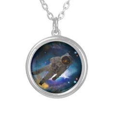 Zero gravity in space pendant