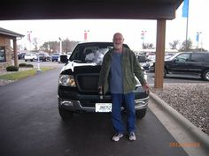 Andy with his F150!