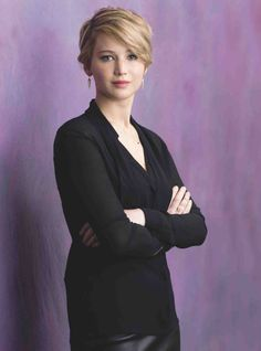 """PICTURES: Jennifer Lawrence in """"Psychologies Magazine"""" (click to read)"""
