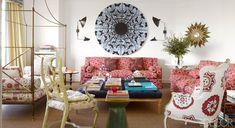 Adore Carolina Herrera Jr.'s patterned living room in Madrid