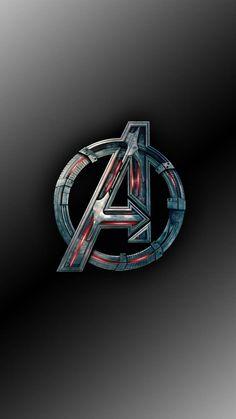 Logo Avengers, Iron Man Avengers, Marvel Avengers, Marvel Logo, Iron Man Wallpaper, Phone Wallpaper Design, Avengers Wallpaper, Logo Wallpaper Hd, Wallpaper Quotes