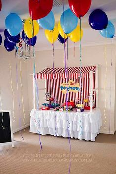 Fun wiggles party featuring a big red car cake, the wiggles character cupcake toppings, cookie balloon pops, wiggly water, printables & more. Carnival Birthday Parties, First Birthday Parties, Birthday Party Themes, First Birthdays, Birthday Ideas, Wiggles Party, Wiggles Birthday, The Wiggles, 3rd Birthday Boys