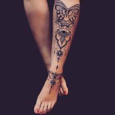 "15.4 mil curtidas, 54 comentários - Tattoos (@inkspiringtattoos) no Instagram: ""Stunning @anais_chabane ❤️ Follow @tattooinkspiration for more"""