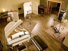Attica Audio Recording - Live Rooms Gallery | Miloco