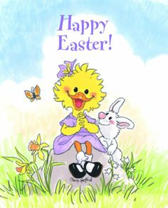 Happy Easter to you! Happy Easter, Easter Bunny, Easter Card, Zoo Clipart, Baby Animals, Cute Animals, Zoo Art, Vintage Easter, Suzy