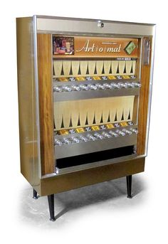 Art O Mat Machines Are Retired Cigarette Vending That Have Been Converted