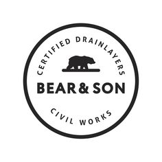 Civil works industrial logo design and brand package by Case In Point Design Studio