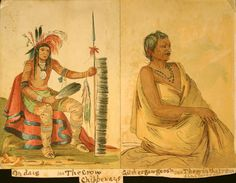 Chippewa Native American Indian Tattoos