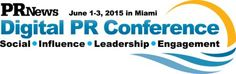 PR News Digital PR Conference at Ritz Carlton Miami, 1 Lincoln Road, Miami Beach, Florida, 33139, United States on Monday June 01, 2015 at 1:00 pm (ends Wednesday June 03, 2015 at 3:00 pm). The Annual Gathering of Communicators and Digital Ideas, Strategies + Tactics. Speakers: Miami Heat, American Cancer Society, Toyota Motor Corp., Finn Partners, AOL, Verizon Wireless and more.Price:Regular Rate: USD 1695.00. Category: Conferences
