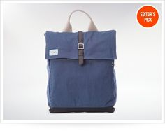 Toms Canvas Backpack With Tech Pocket