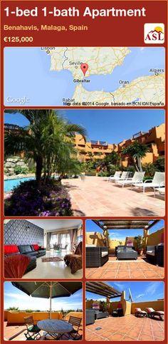 1-bed 1-bath Apartment in Benahavis, Malaga, Spain ►€125,000 #PropertyForSaleInSpain