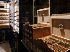 Crystal Bar Humidor at The Wellesley Hotel in London