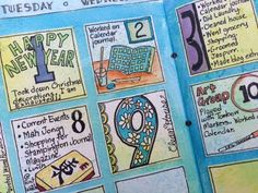Calendar journal by Ginny Markley