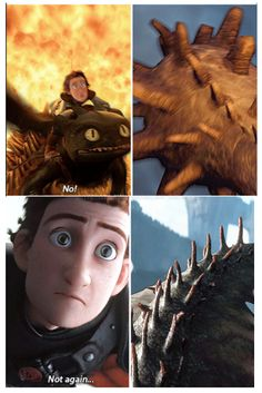Hiccup will you never learn?! Do not go for the tail