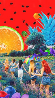 Red Velvet Lockscreen
