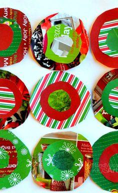 Kandinsky Inspired Christmas Ornament and Art