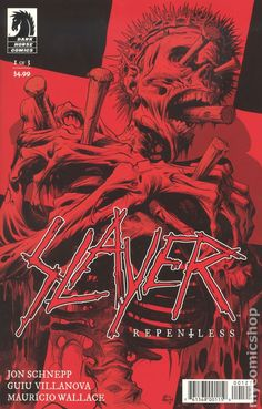 Slayer Repentless (2017 Dark Horse) 1B heavy metal band comic book cover south of heaven seasons in the abyss