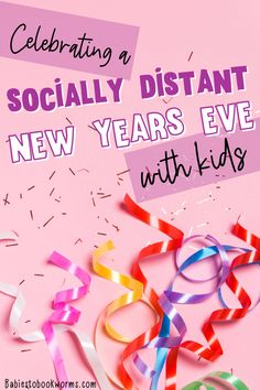 Celebrate a socially distanced New Year's Eve with kids with this New Year's children's book and tree decorating kit!