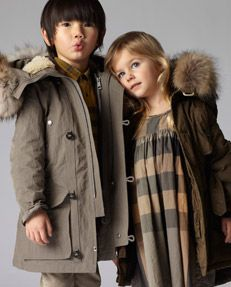 Burberry for Kids! Now if I only had a money tree in my back yard!!