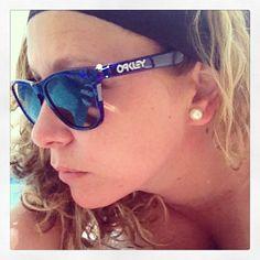 #Oakley frogskins #sunglasses