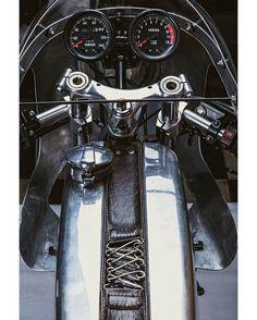 Yamaha RD 135 Cafe Racer - Daniel - Recar Motos - Serrano Racing #motorcycles #caferacer #motos   caferacerpasion.com