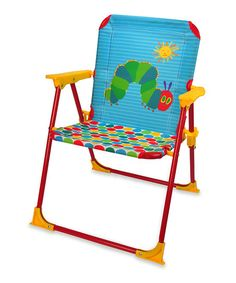 The World of Eric Carle The Very Hungry Caterpillar Folding Chair | zulily