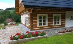 Fotogalerie realizovaných roubených staveb - roubenkyroubal.cz Tiny House, Studios, Outdoor Decor, Garden, Cottages, Home Decor, Chalets, Pictures, Homemade Home Decor