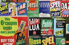 Vintage Packaging Exposed in London's Brands Museum