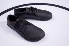 Ahinsa Shoes Black Casual (Sundara) - Barfußschuhe / barefoot shoes