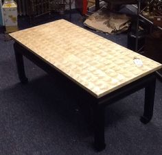 Capiz Shell Topped Coffee Table / Chinoiserie by GreenZebre on Etsy https://www.etsy.com/listing/204521157/capiz-shell-topped-coffee-table